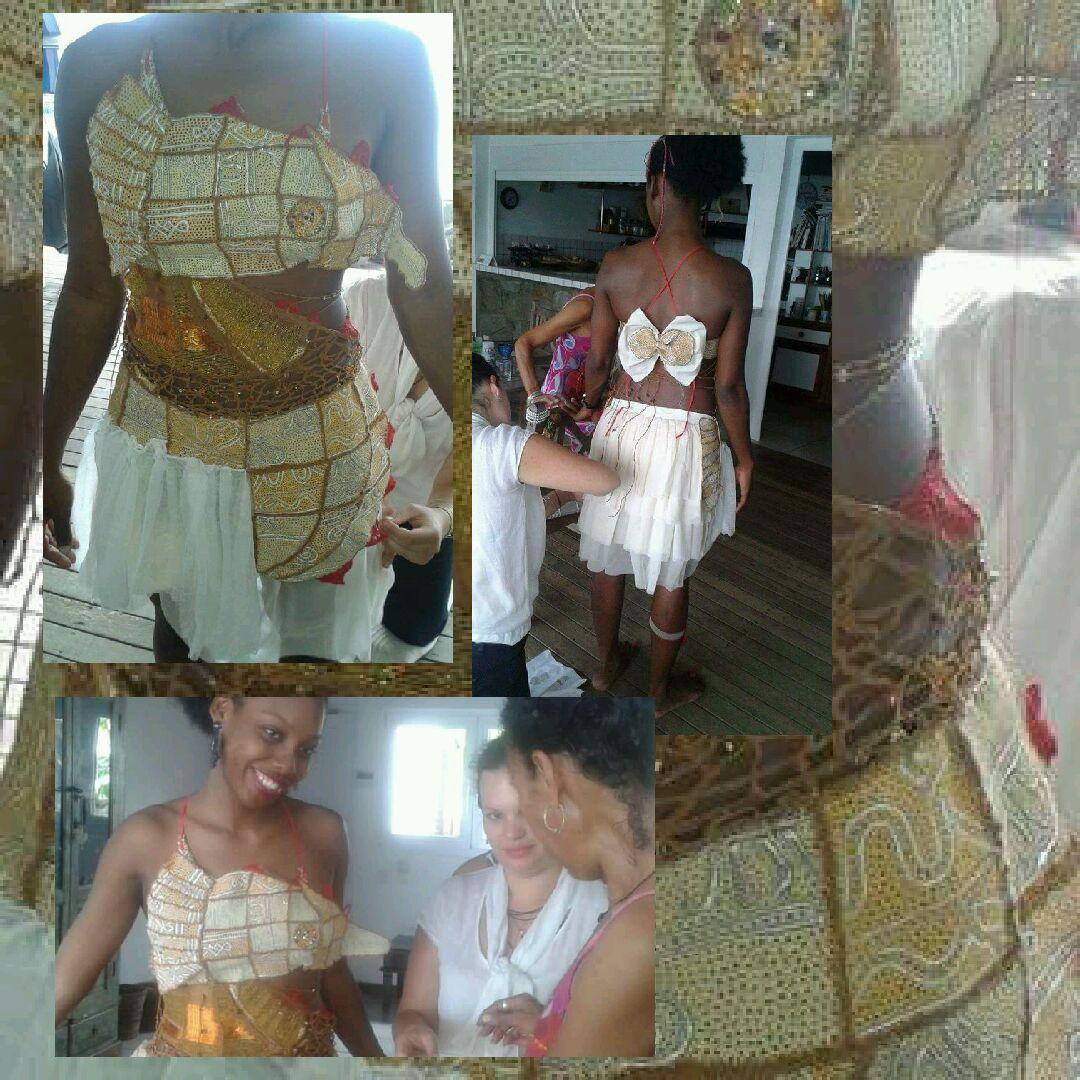 La tenue de la miss Ramatou RADJABO choque la diaspora Mahoraise